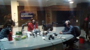Kitty Sanders en el radio Belgrano